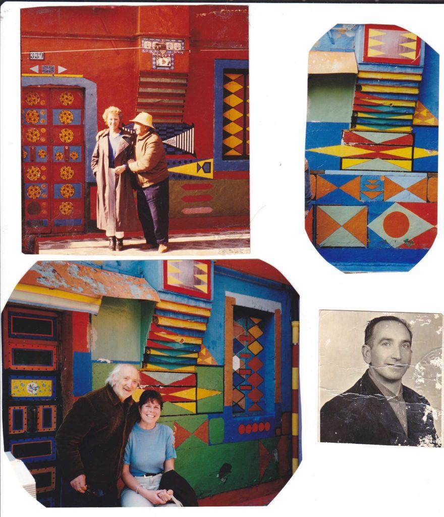 Collage di fotografie per gentile concessione di Albertina Toselli. La riproduzione di questa immagine è vietata.