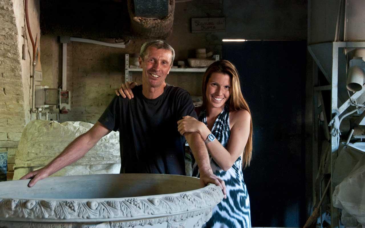 Stories of hands the secrets of terracotta in impruneta for Masini terrecotte impruneta